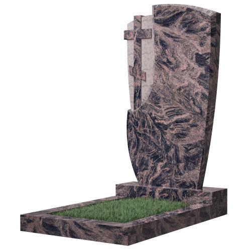 Памятник №75 (черный гранит)