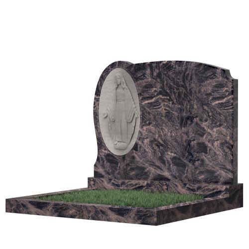 Семейный памятник №71 (черный гранит)