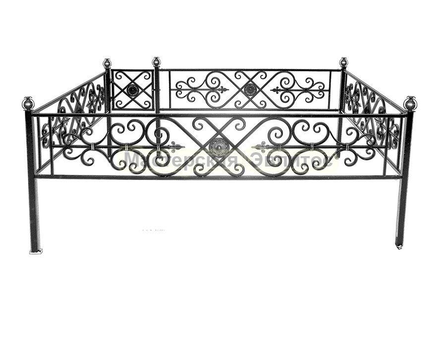 Металлическая ограда Т27