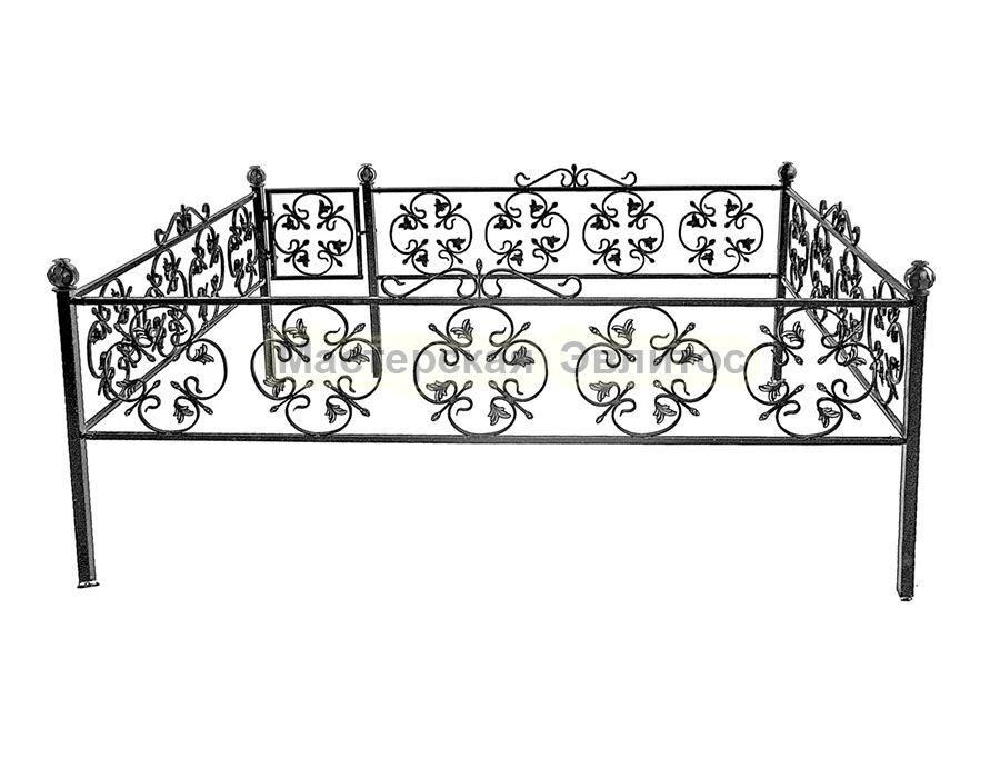Металлическая ограда Т28