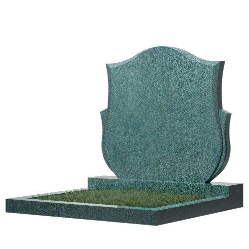 Семейный памятник №87 (зеленый гранит)