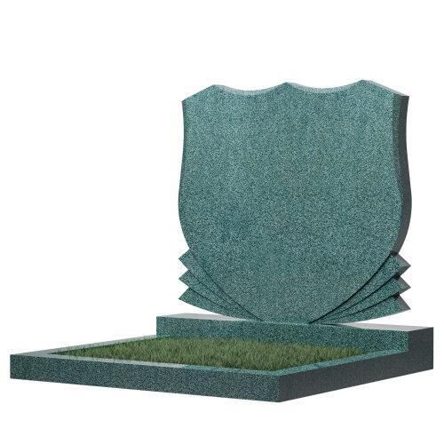 Семейный памятник №86 (зеленый гранит)