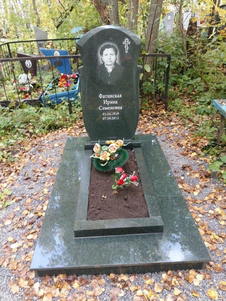 Памятник №82 (черный гранит)