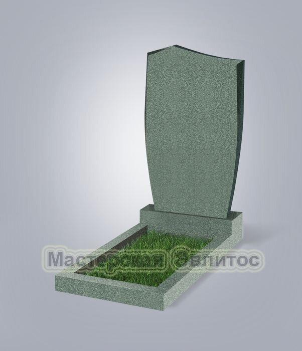 Памятник №29 (зеленый гранит)