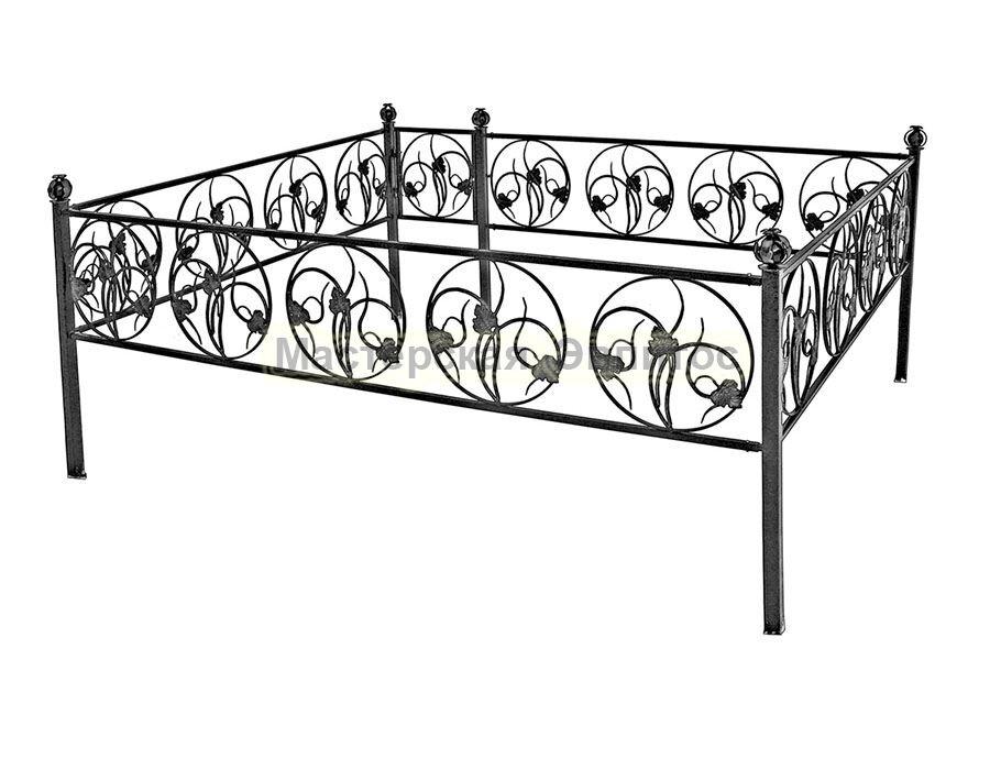 Металлическая ограда Т30