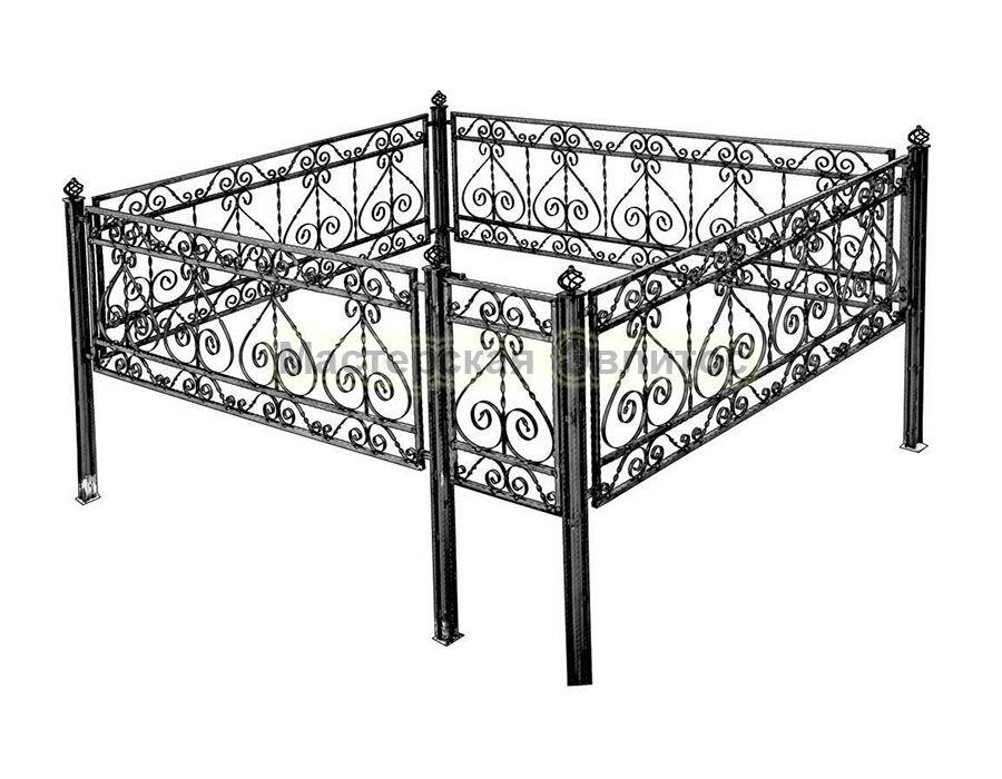 Металлическая ограда Т31