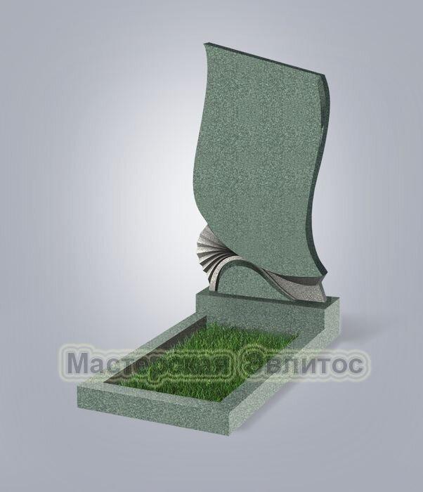 Памятник №31 (зеленый гранит)