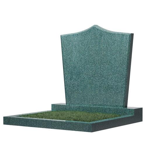 Семейный памятник №67 (зеленый гранит)