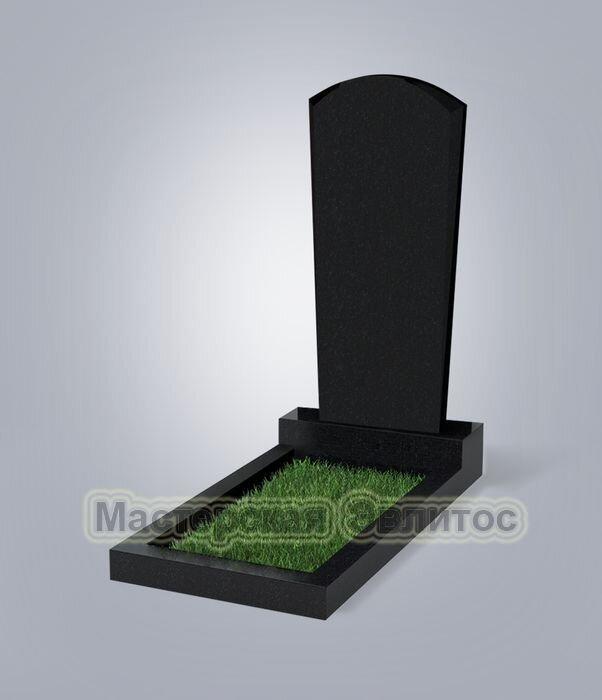 Памятник №89 (черный гранит)