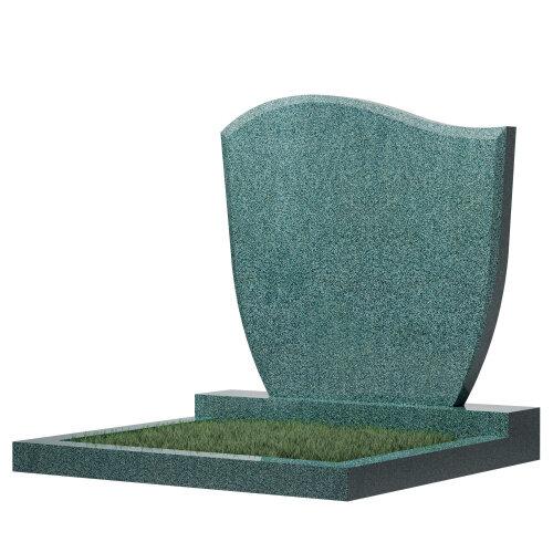 Семейный памятник №65 (зеленый гранит)