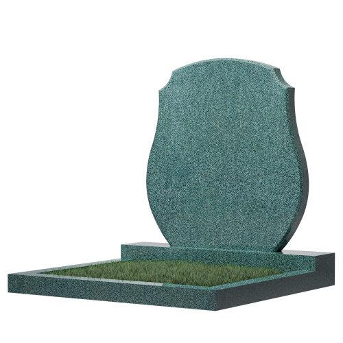 Семейный памятник №64 (зеленый гранит)