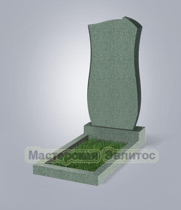 Памятник №41 (зеленый гранит)