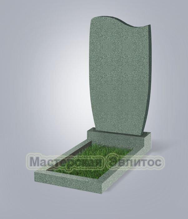 Памятник №42 (зеленый гранит)