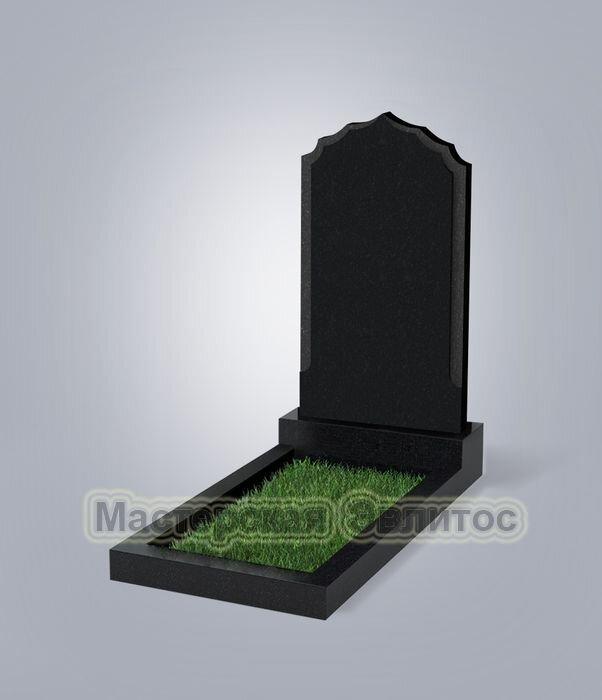 Памятник №93 (черный гранит)