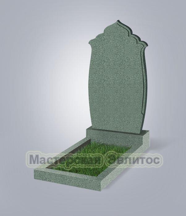 Памятник №43 (зеленый гранит)