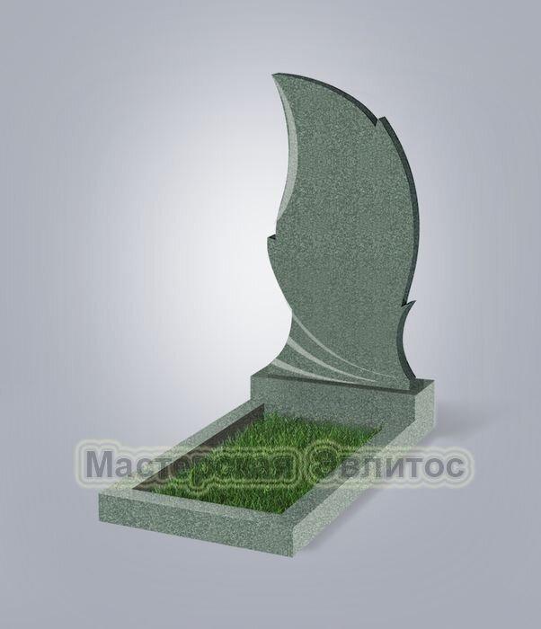Памятник №47 (зеленый гранит)