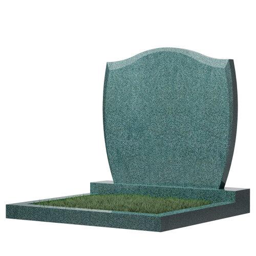 Семейный памятник №46 (зеленый гранит)