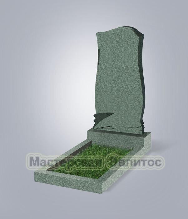 Памятник №48 (зеленый гранит)