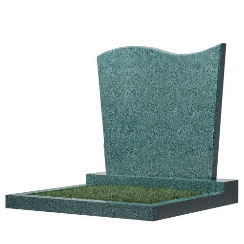Семейный памятник №16 (зеленый гранит)