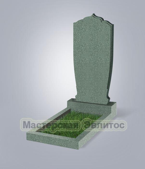 Памятник №49 (зеленый гранит)