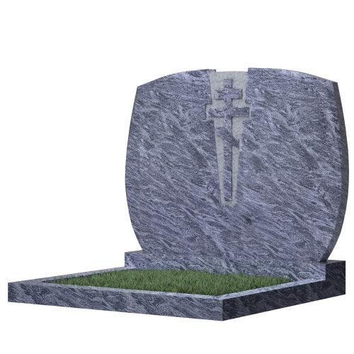 Семейный памятник №97 (голубой гранит)