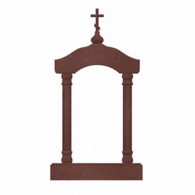 Памятник №24 арка (красный гранит)