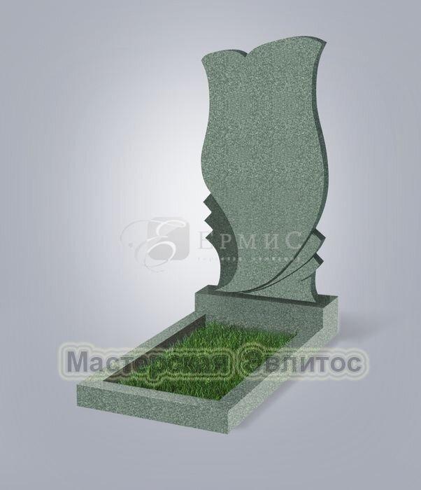 Памятник №53 (зеленый гранит)