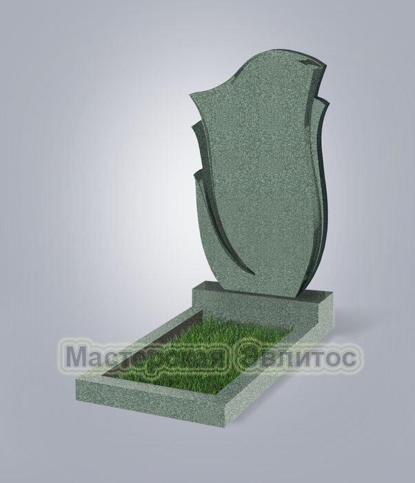 Памятник №55 (зеленый гранит)