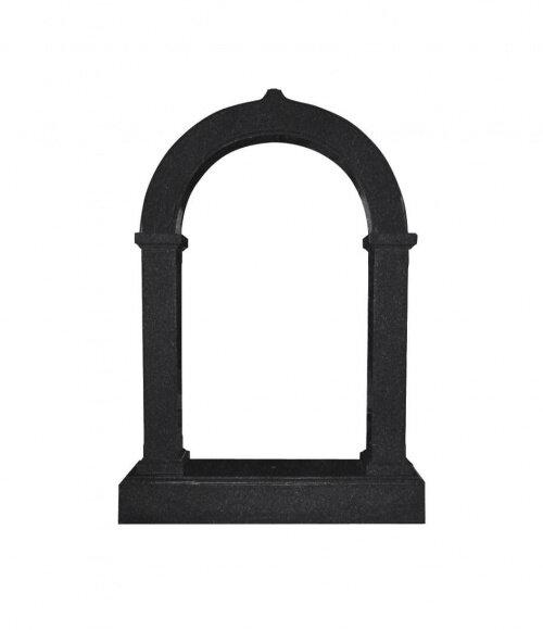 Памятник №4 арка (черный гранит)