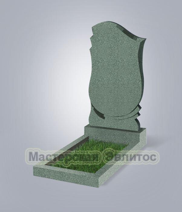 Памятник №58 (зеленый гранит)