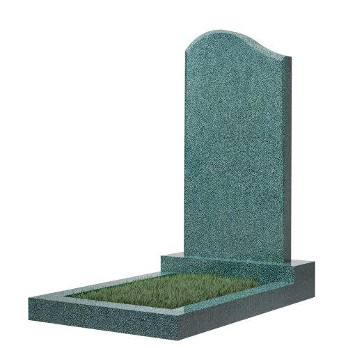 """Фигурный памятник класса """"эконом"""" №14 (темно-серый гранит)"""