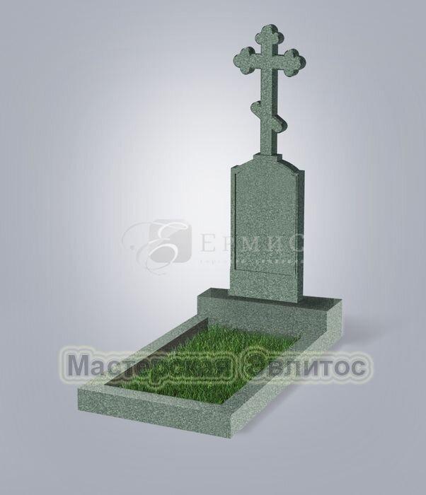 Памятник №69 (зеленый гранит)