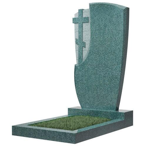 Памятник №75 (зеленый гранит) в Томске