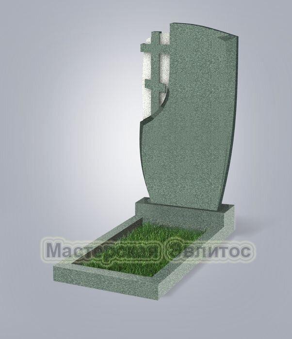 Памятник №75 (зеленый гранит)