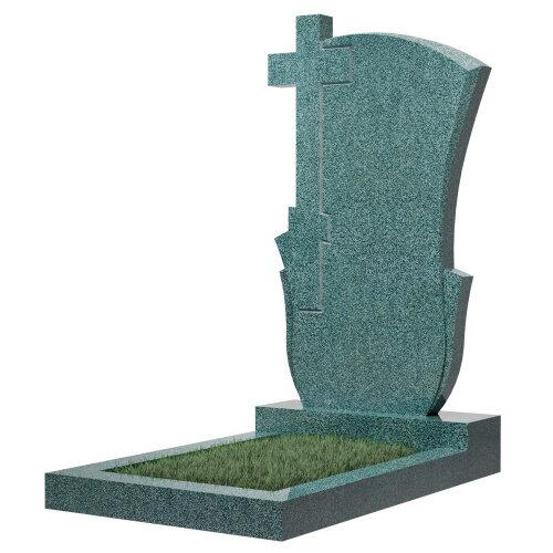 Памятник №76 (зеленый гранит)