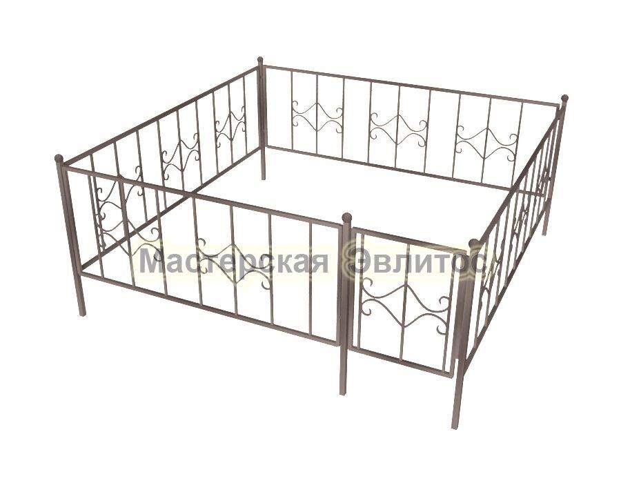 Ограда кованая К4
