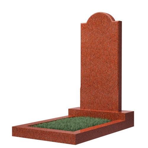 Памятник №10 (красный гранит)