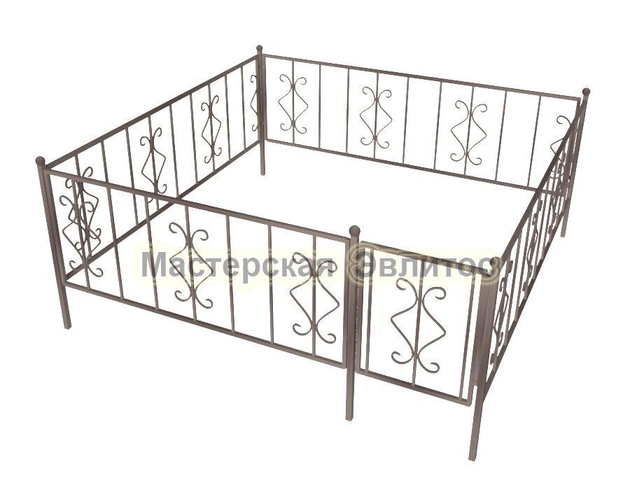 Ограда кованая К5