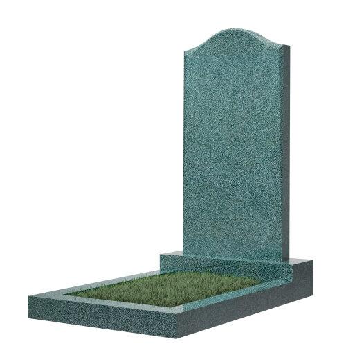 """Фигурный памятник класса """"эконом"""" №22 (темно-серый гранит)"""