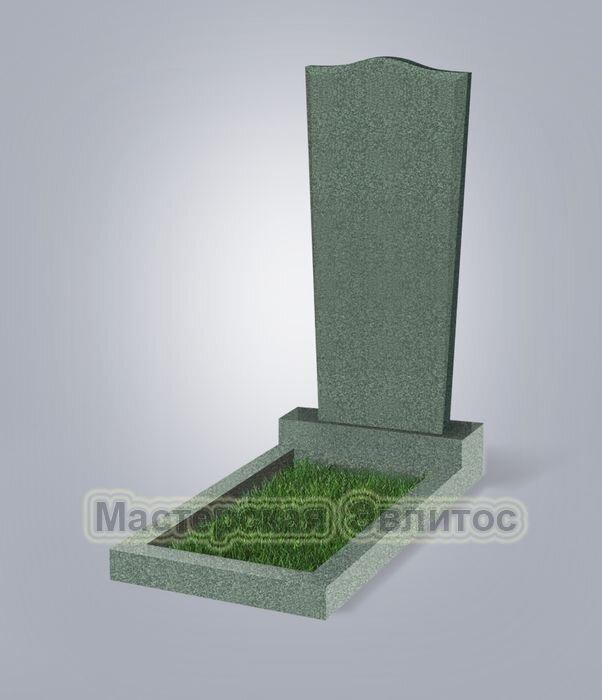Памятник №88 (зеленый гранит)
