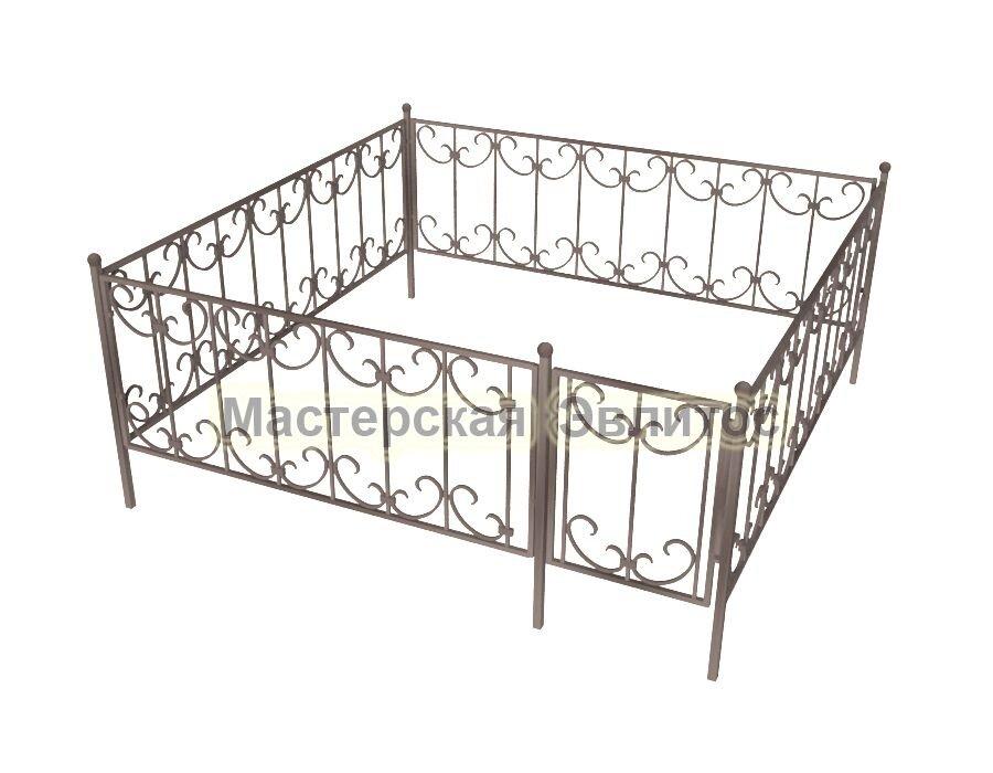 Ограда кованая К8