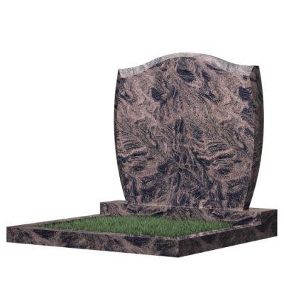 Семейный памятник №46 (коричневый гранит)