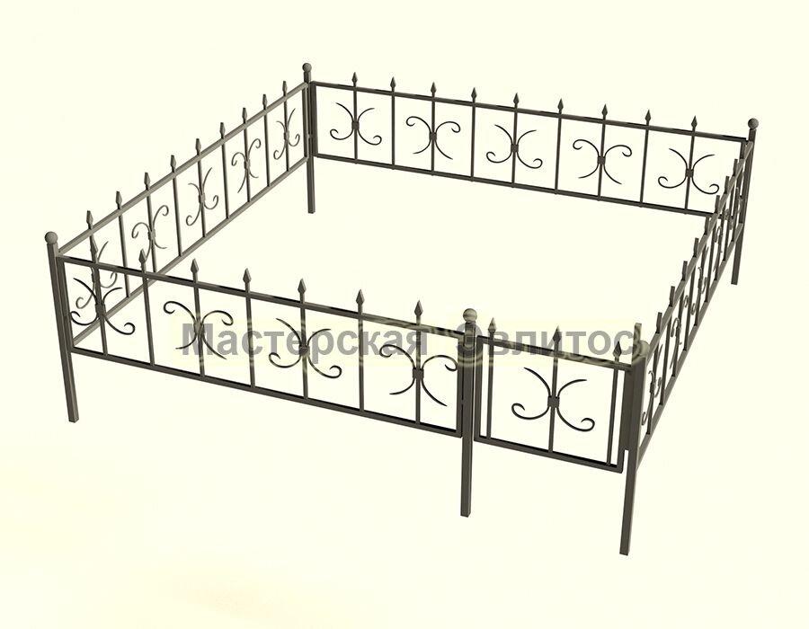 Ограда кованая К10