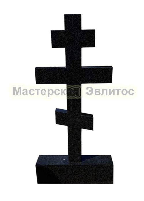 Гранитный крест 8-ми конечный в Томске