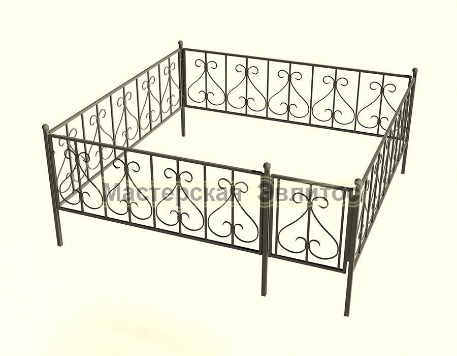 Ограда кованая К11
