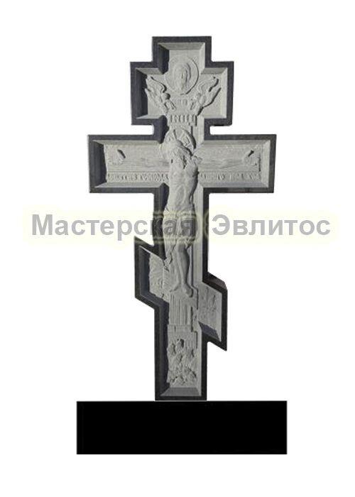 Гранитный Крест 16 (фрезерованный) в Томске