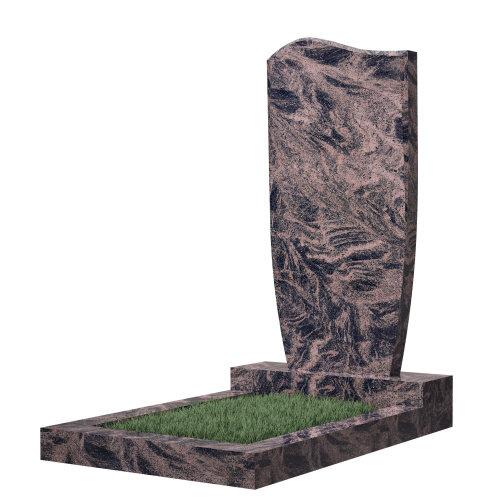 Памятник №21 (красный гранит)