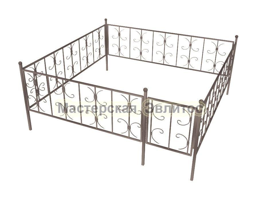 Ограда кованая К12
