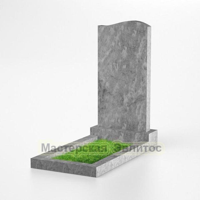 Фигурный памятник из мрамора №102