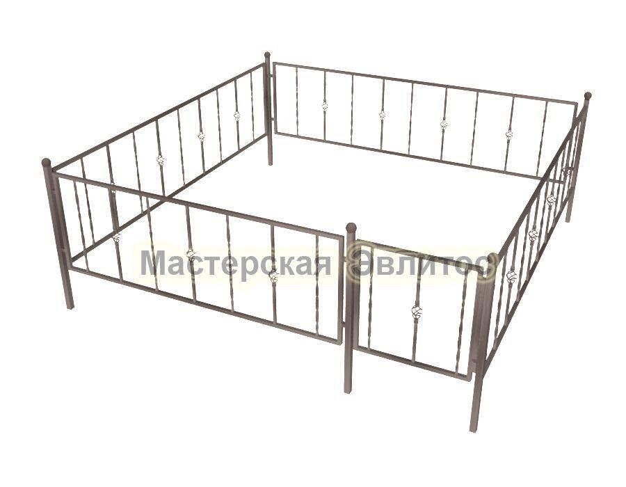 Ограда кованая К14